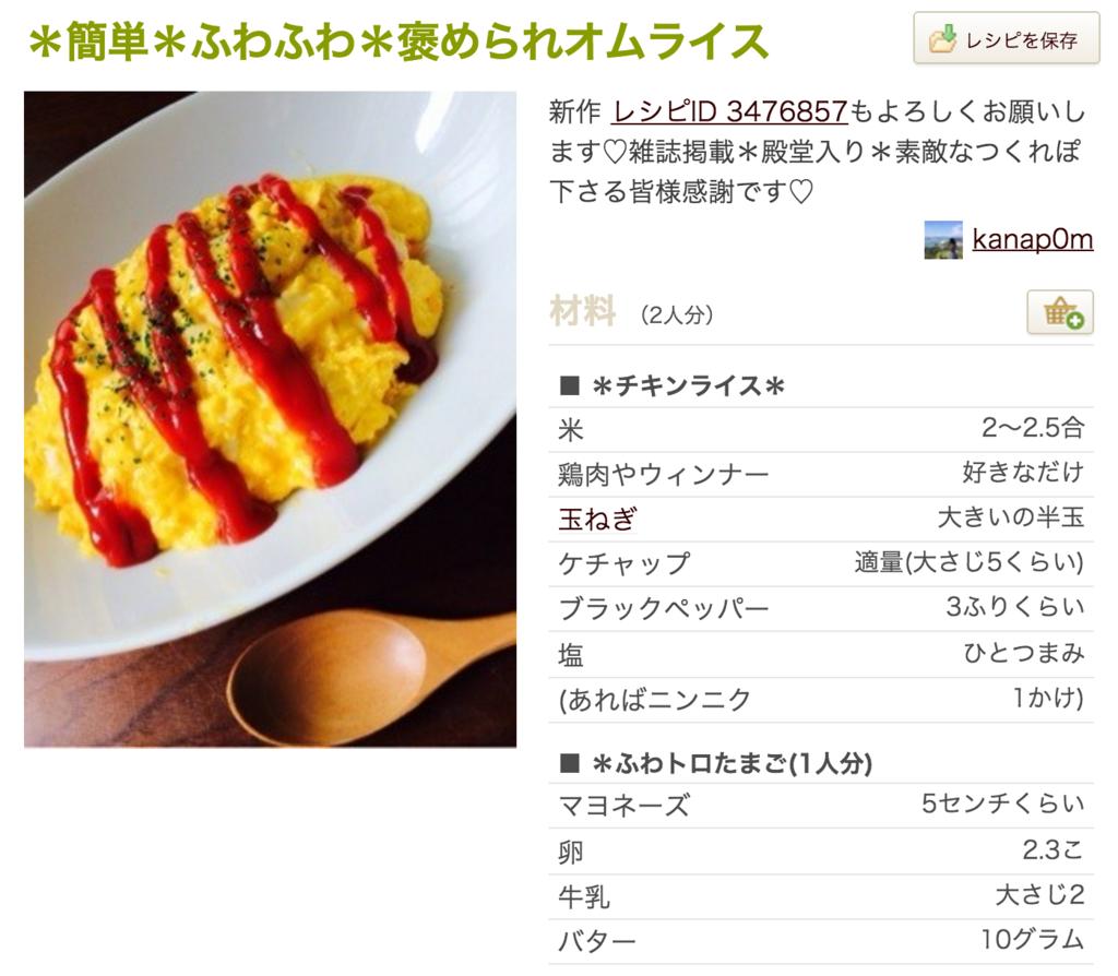 ふわふわオムライスの人気レシピ・作り方10選