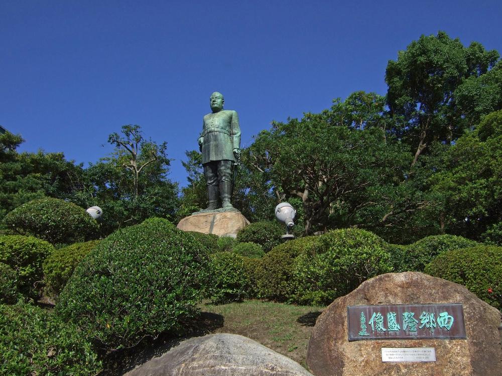 鹿児島にある国の史跡で、うんこをもらしました