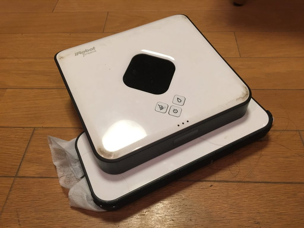 床拭きロボットブラーバの写真