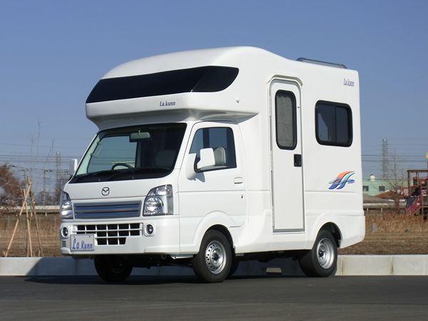 軽キャンピングカーの写真