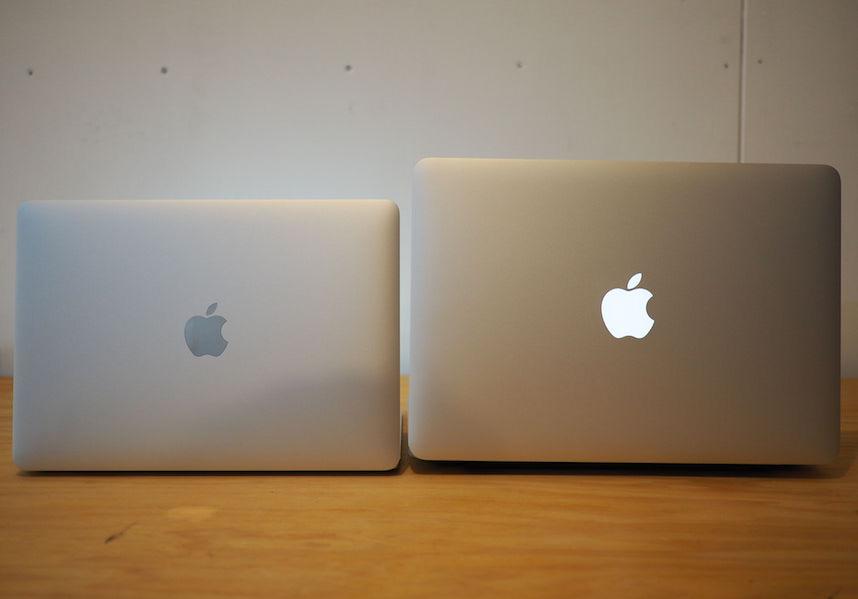 MacBookとMacBookProの比較
