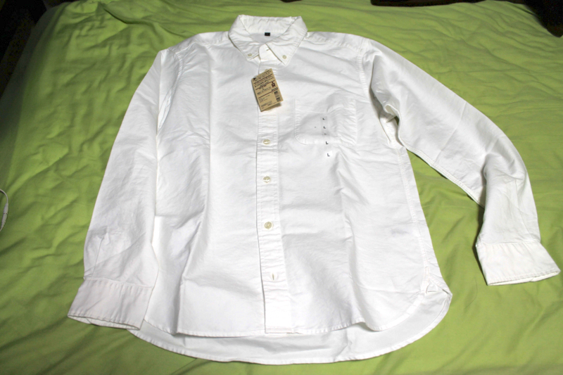 愛用している無印良品のポロシャツ